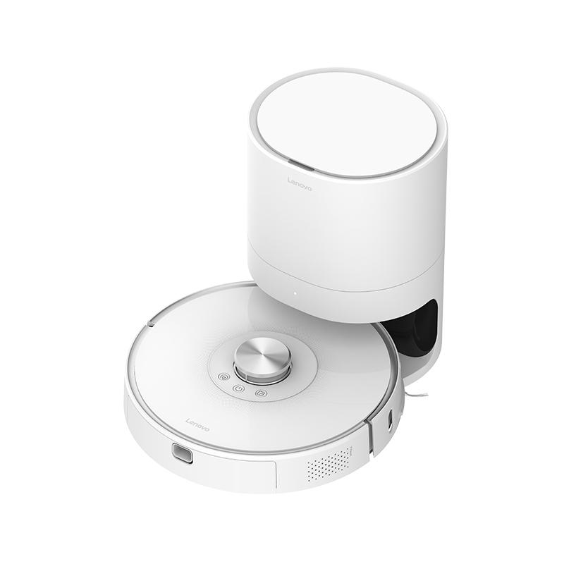 聯想智能掃地機器人Pro(皓月銀)+集塵寶