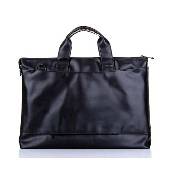 联想(ThinkPad)原装皮包单肩包14英寸电脑包黑色图片
