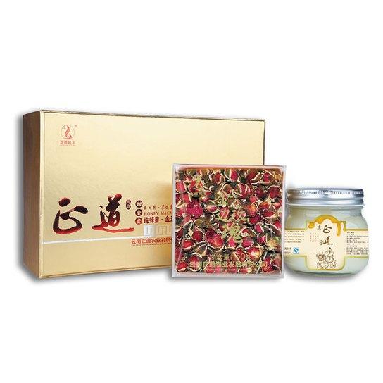 正道甜蜜蜜 蜂蜜花茶图片