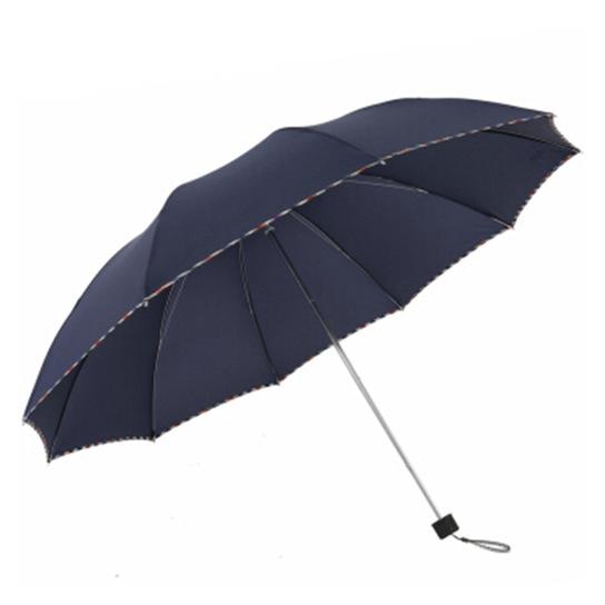 天堂伞 三折商务伞图片